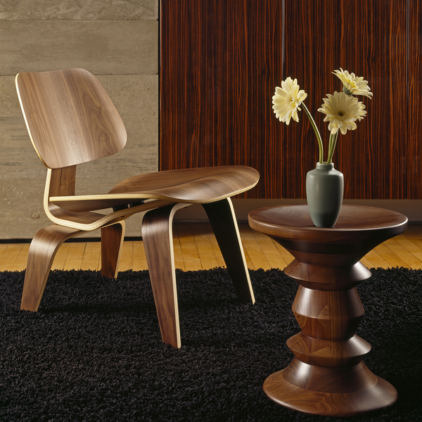 Herman Miller - Eames® Walnut Stools - Solid Walnut / Shape B - Lekker Home
