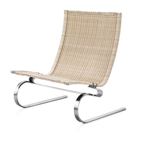 Fritz Hansen - PK20™ Easy Chair - Wicker / One Size - Lekker Home