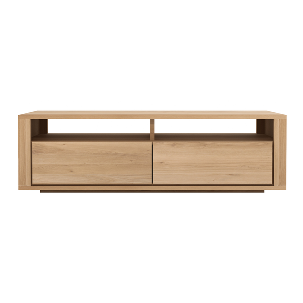 "Ethnicraft NV - Shadow TV Cabinet - Solid Oak / 55"" - Lekker Home"
