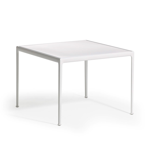 Knoll - 1966 Dining Table - White / Square - Lekker Home