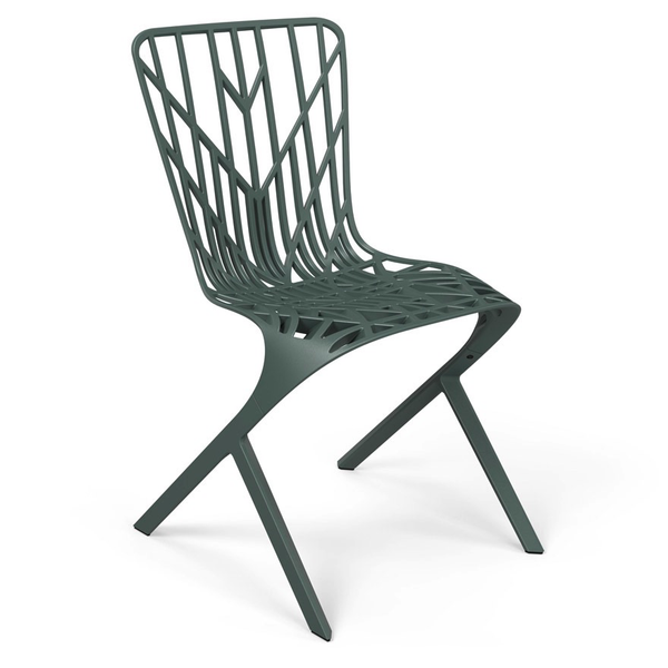 Knoll - Washington Skeleton™ Aluminum Side Chair - Lekker Home - 10