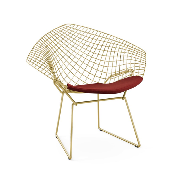 Knoll - Bertoia Diamond Chair - Gold - Lekker Home - 7