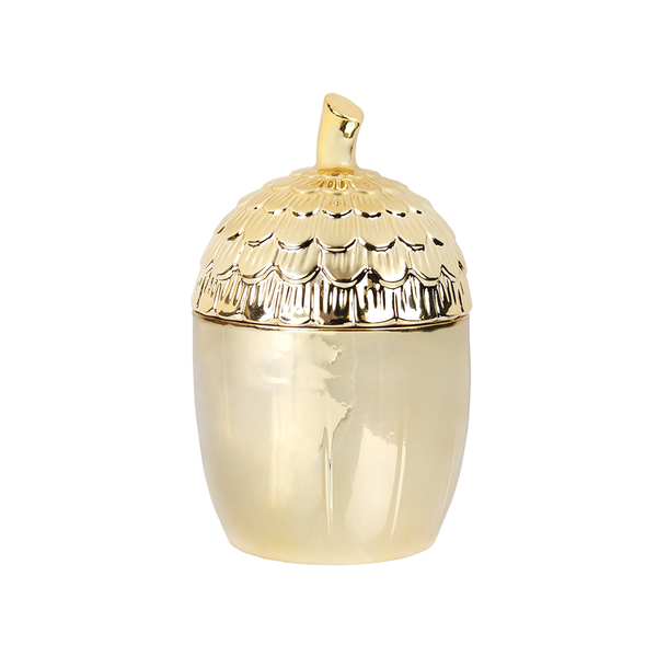 Klevering - Gold Acorn Jar - Lekker Home