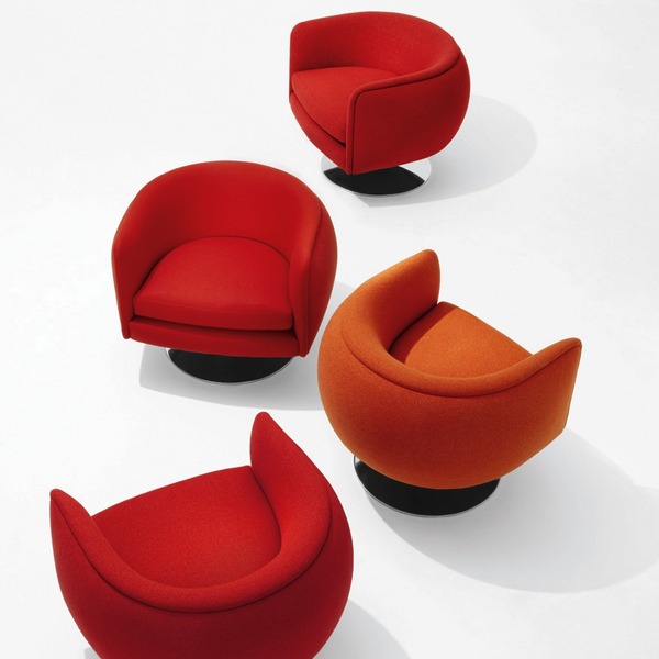 Knoll - D'Urso Swivel Chair - Lekker Home - 4
