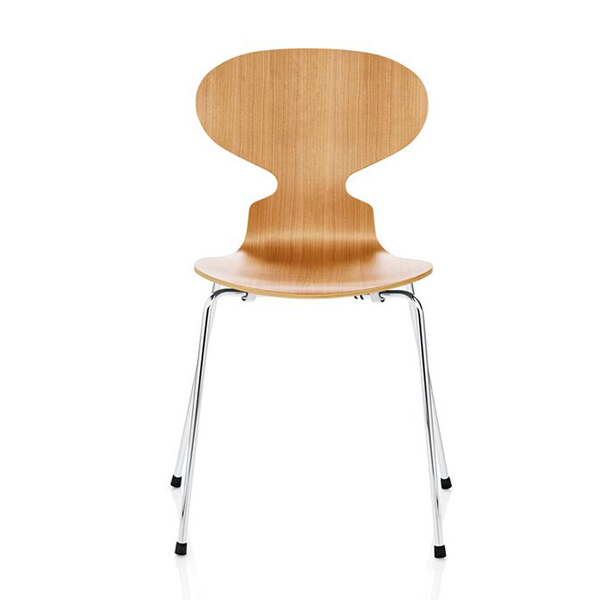 Fritz Hansen - Ant Chair 4 Legs - Wood - Lekker Home - 1