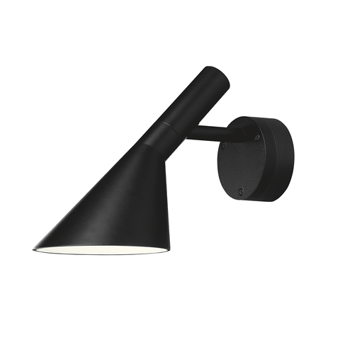 Louis Poulsen - AJ 50 Wall Lamp - Black / One size - Lekker Home