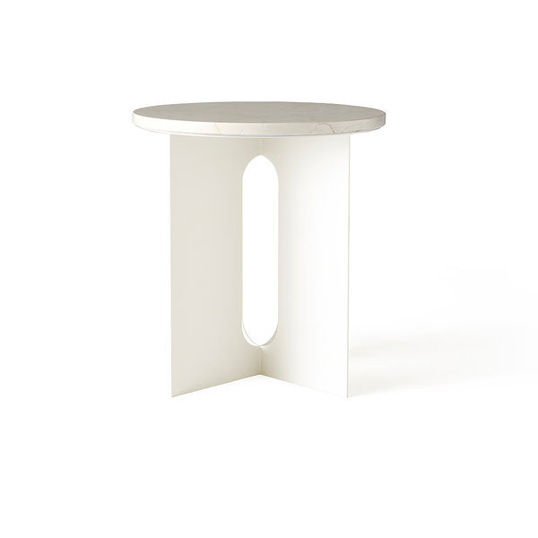 Menu A/S - Androgyne Side Table - Ivory / One Size - Lekker Home