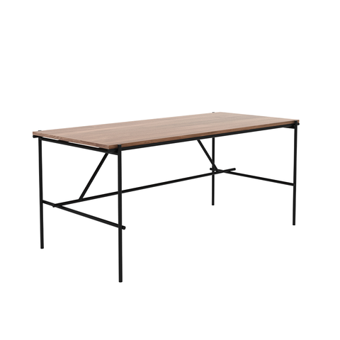 "Ethnicraft NV - Oscar Desk - Teak / 55"" Desk - Lekker Home"