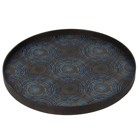 Notre Monde - Seaside Beads Round Tray - Default - Lekker Home