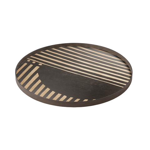 Ethnicraft NV - Asymmetric Dot Tray - Lekker Home