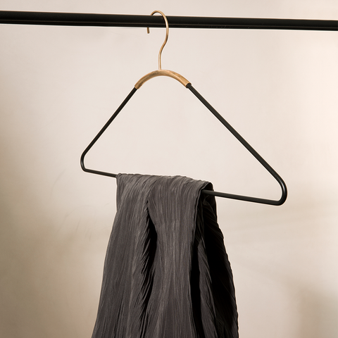 Menu A/S - Ava Coat Hanger, Black/Brass - Default - Lekker Home