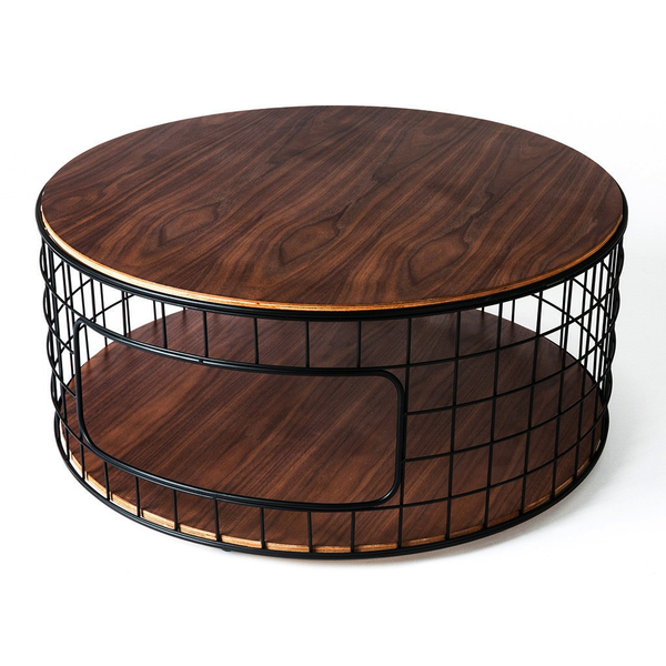 Gus Modern - Wireframe Coffee Table - Lekker Home - 1