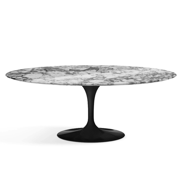 "Knoll - Saarinen Dining Table 78"" Oval - Lekker Home - 11"