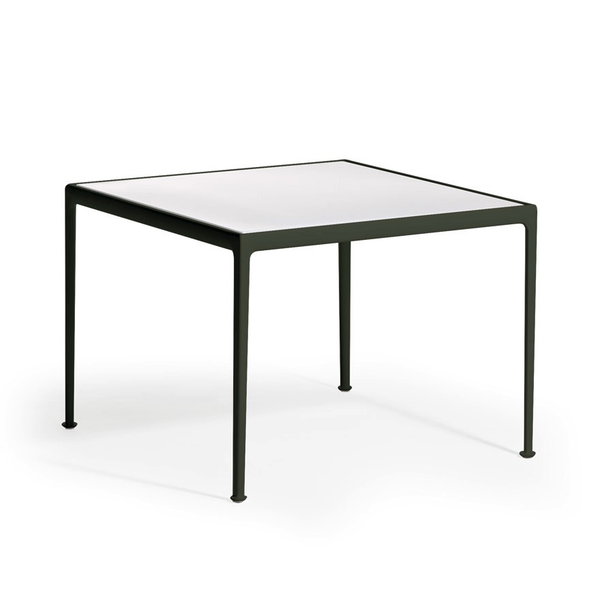 Knoll - 1966 Dining Table - Green/White / Square - Lekker Home
