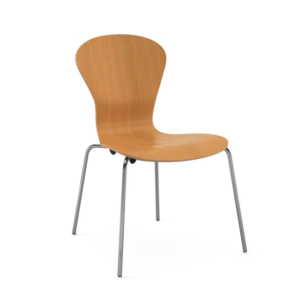 Knoll - Sprite Armless Stacking Chair - Lekker Home - 10