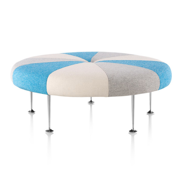 Herman Miller - Girard Color Wheel Ottoman - Lekker Home - 6