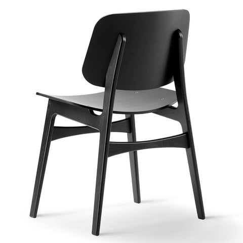 Fredericia - Søborg Chair - Wood Frame - Smoked Oak Oiled / One Size - Lekker Home