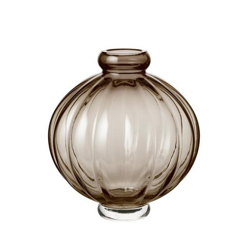Louise Roe - Balloon Vase 01 - Burgundy / One Size - Lekker Home
