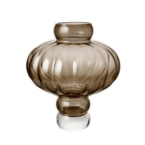 Louise Roe - Balloon Vase 03 - Smoke / One Size - Lekker Home