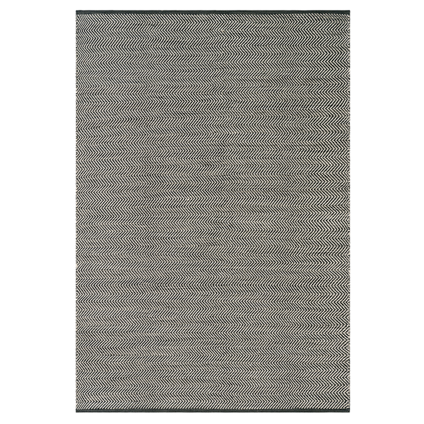 "Armadillo & Co - Quill Weave Indoor/Outdoor Rug - Basalt & Fog / 8'2"" x 11'6"" - Lekker Home"