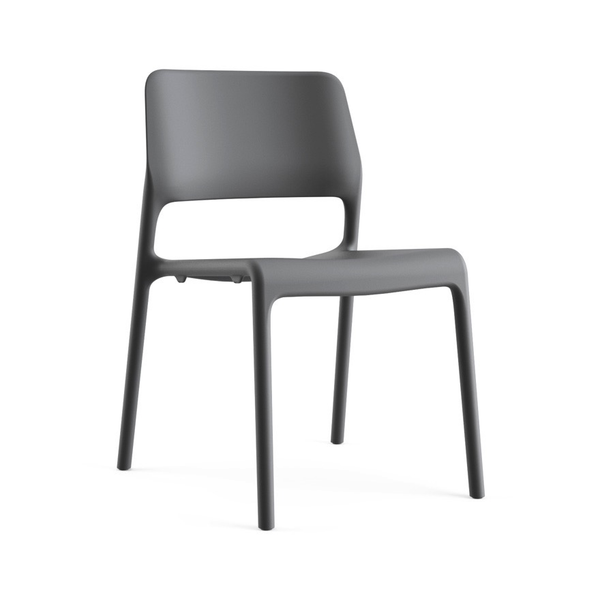 Knoll - Spark® Series Side Chair - Dark Grey / One Size - Lekker Home