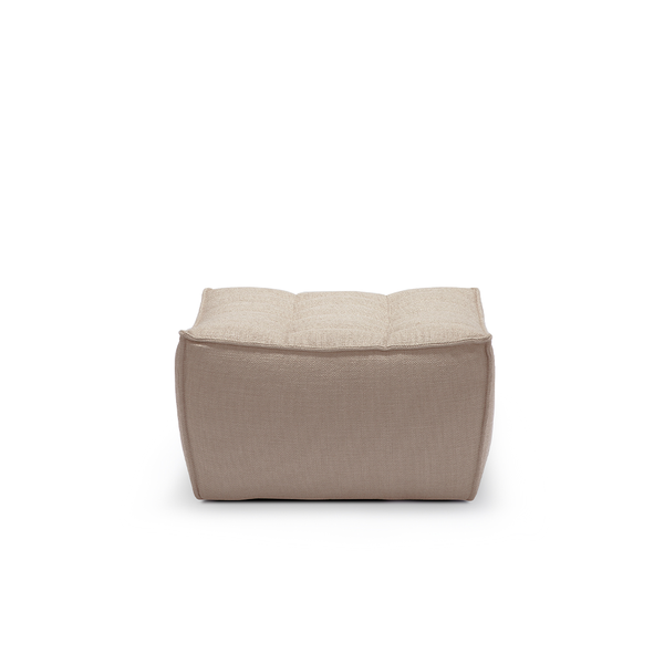Ethnicraft NV - N701 Footstool - Beige / One Size - Lekker Home