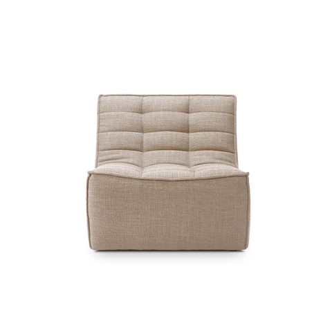 Ethnicraft NV - N701 Lounge Chair - Beige / One Size - Lekker Home