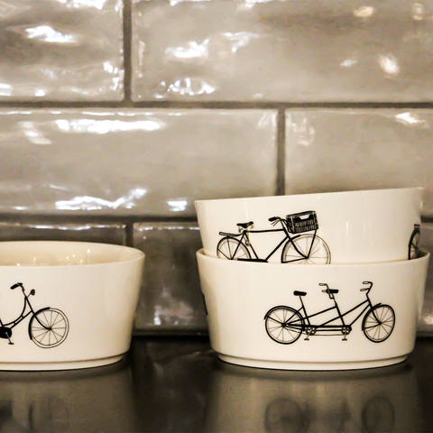Pols Potten - Bicycle Bowls Set of 4 - Lekker Home