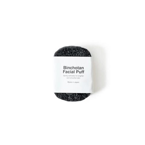 Morihata International - Binchotan Charcoal Facial Puff - Default - Lekker Home