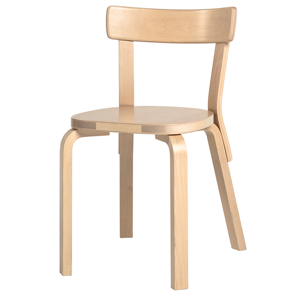 Artek - Chair 69 - Natural Lacquered / Birch - Lekker Home