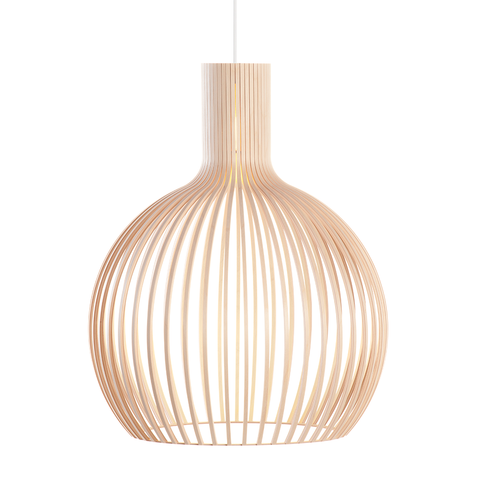 Secto Design - Octo 4240 Pendant - Natural Birch / One Size - Lekker Home