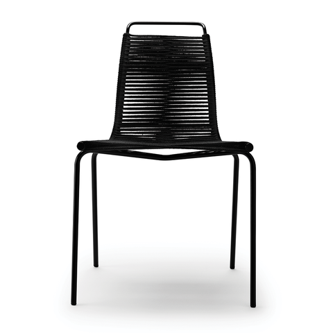 Carl Hansen - PK1 Chair - Black / Black - Lekker Home