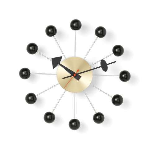 Vitra - Nelson™ Ball Clock - Multicolor / One Size - Lekker Home