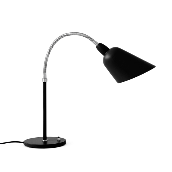 &Tradition - Bellevue Table Lamp - Black + Brass / One Size - Lekker Home