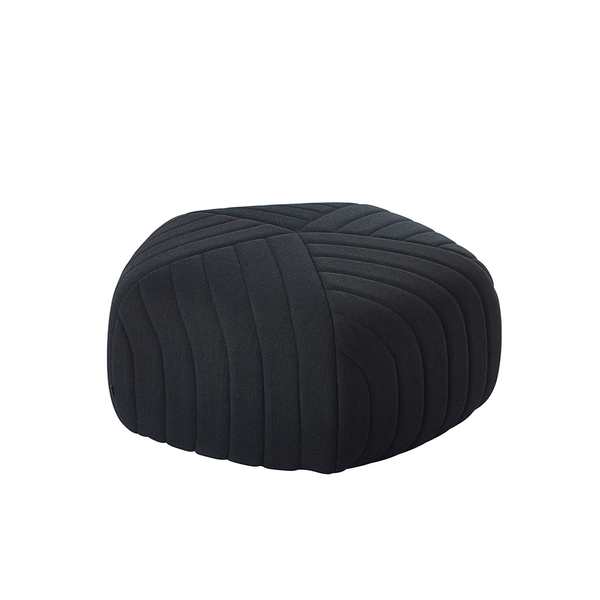 Muuto - Five Pouf - Dark Grey / Small - Lekker Home