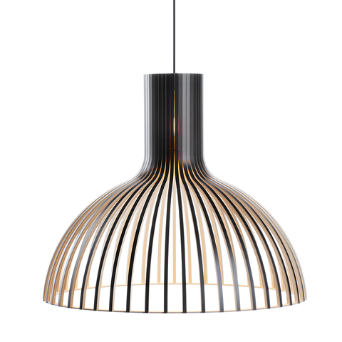 Secto Design - Victo 4250 Pendant - Black Laminated / One Size - Lekker Home