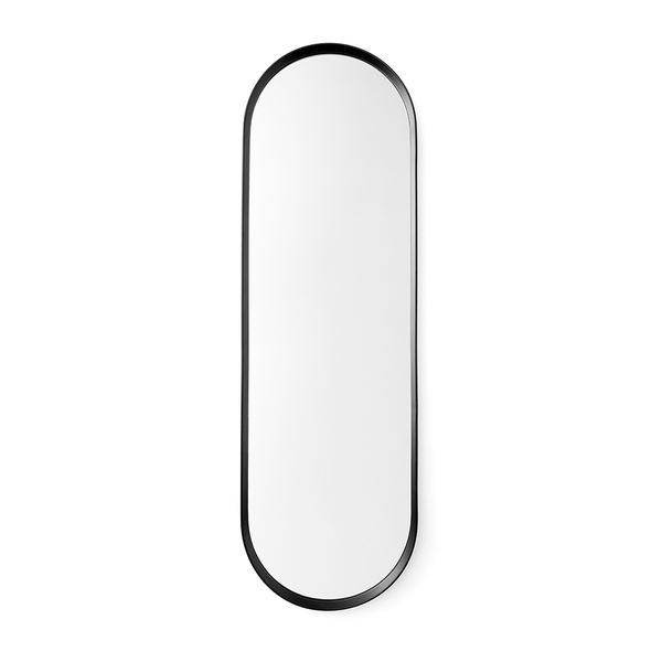 Menu A/S - Norm Oval Mirror - Black / One Size - Lekker Home