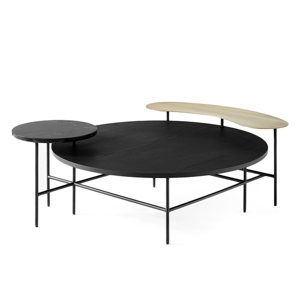 &Tradition - JH25 Palette Lounge Table - Black Ash / One Size - Lekker Home