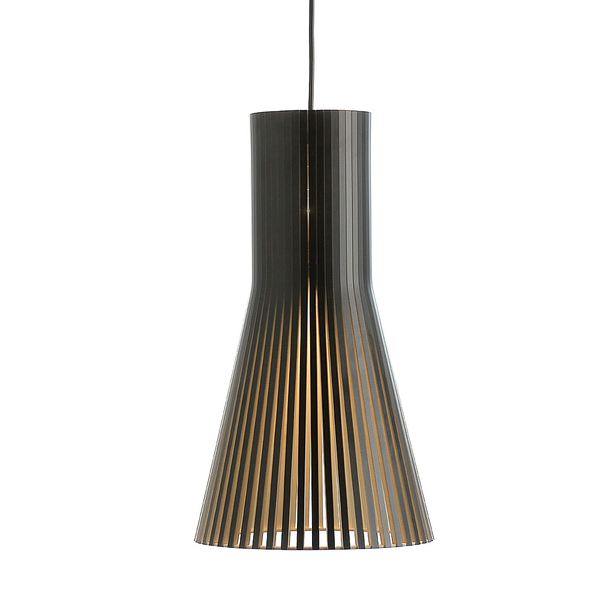 Secto Design - Secto 4201 Pendant - Black Laminated / One Size - Lekker Home