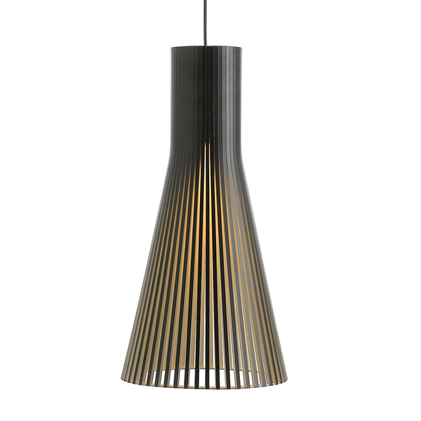 Secto Design - Secto 4200 Pendant - Black Laminated / One Size - Lekker Home