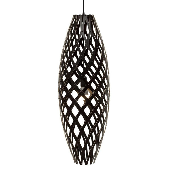 David Trubridge - Hinaki Pendant - Black / Black / 500 - Lekker Home