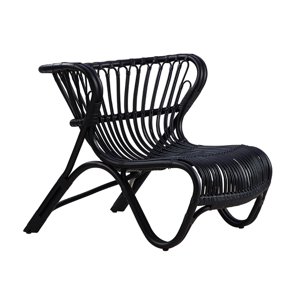 Sika Design - Fox Lounge Chair - Black / One Size - Lekker Home