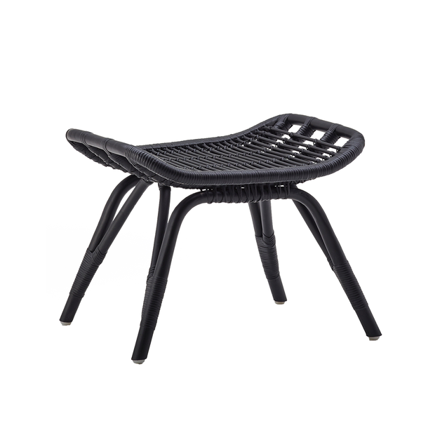 Sika Design - Monet Footstool - Black / One Size - Lekker Home