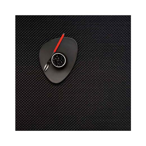 Chilewich - Basketweave Placemat - Black / Square - Lekker Home