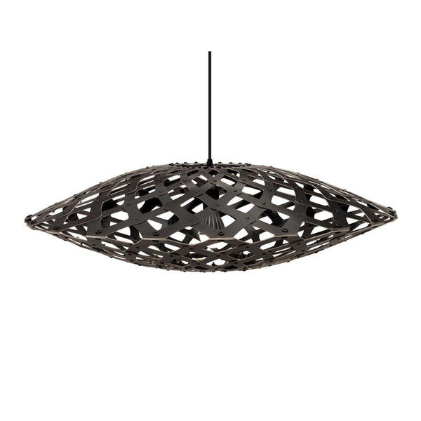 David Trubridge - Flax Pendant - Black / Black / 800 - Lekker Home
