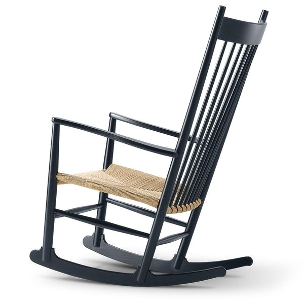Fredericia - J16 Rocking Chair - Lacquered Beech / Natural Papercord - Lekker Home