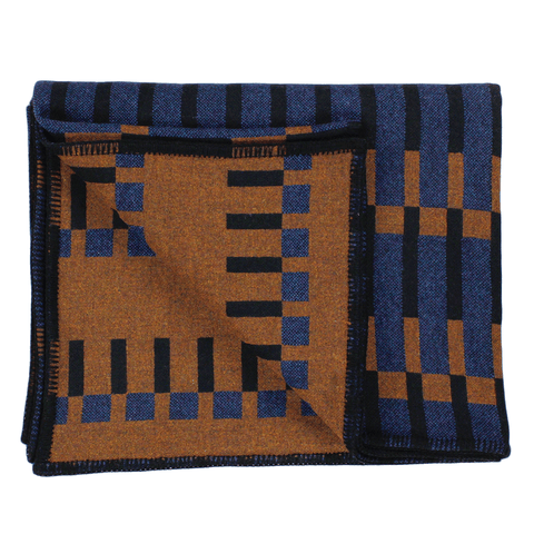 "Eleanor Pritchard - Dovetail Blanket - One Color / 79"" x 65"" - Lekker Home"