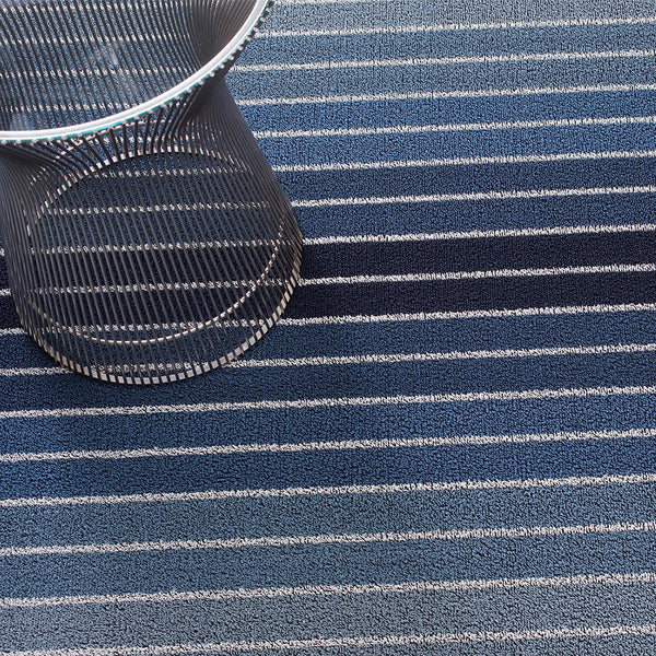 Chilewich - Block Stripe Shag Indoor/Outdoor Mat - Lekker Home