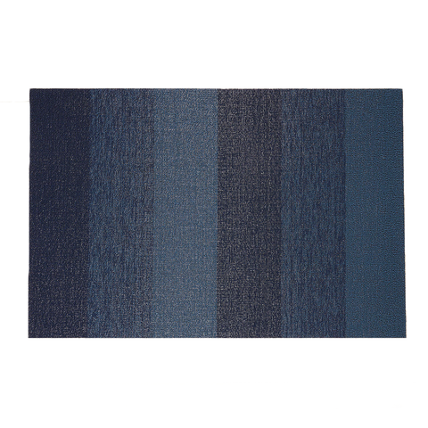 Chilewich - Marbled Stripe Shag Indoor/Outdoor Mat - Lekker Home