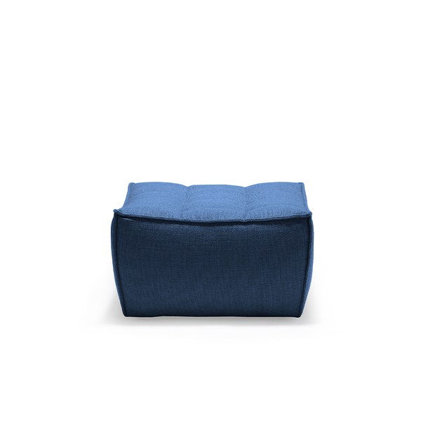 Ethnicraft NV - N701 Footstool - Blue / One Size - Lekker Home